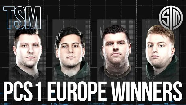 TSM wins the PCS1 Europe Grand Finals