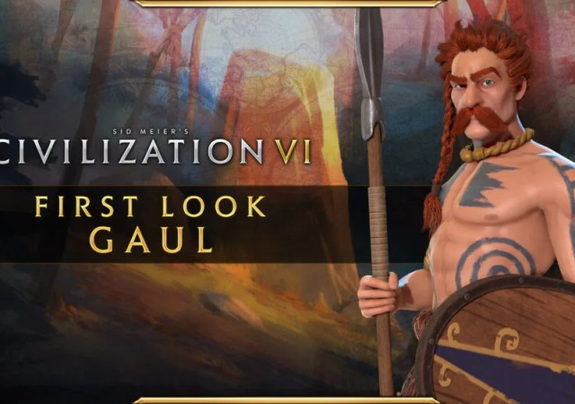 Civilization VI , New Frontier Pass ,Byzantium , Gaul Pack