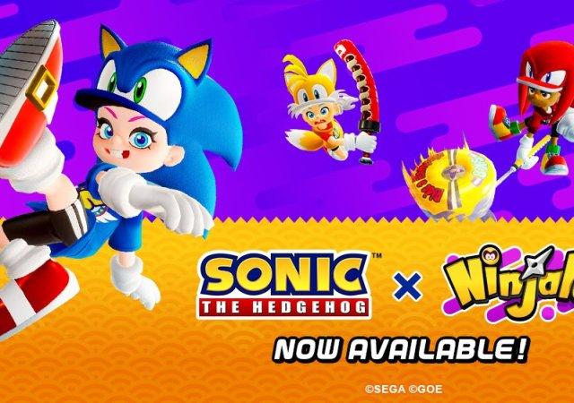 Ninjala x Sonic