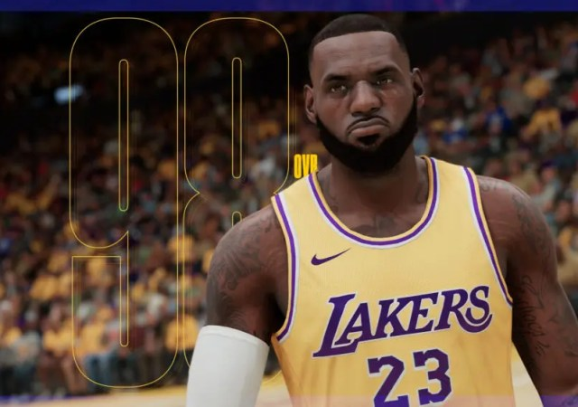 LeBron NBA 2K21
