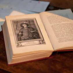 Magellan's Book in Columbia Pictures' UNCHARTED.