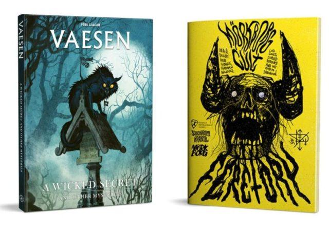 Vaesen: A Wicked Secret & Mörk Borg Cult: Feretory