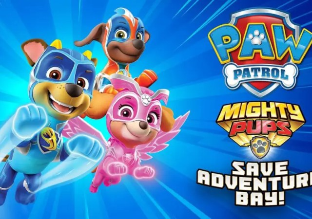 AW Patrol Mighty Pups Save Adventure Bay