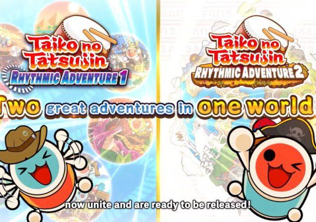 TAIKO NO TATSUJIN RHYTHM ADVENTURE 1 & 2