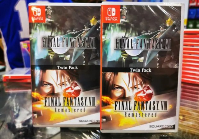 FINAL FANTASY VII and FINAL FANTASY VIII Remastered
