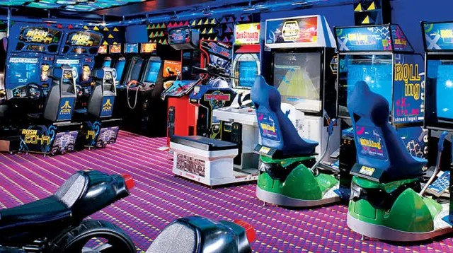 Video Games on a Cruise