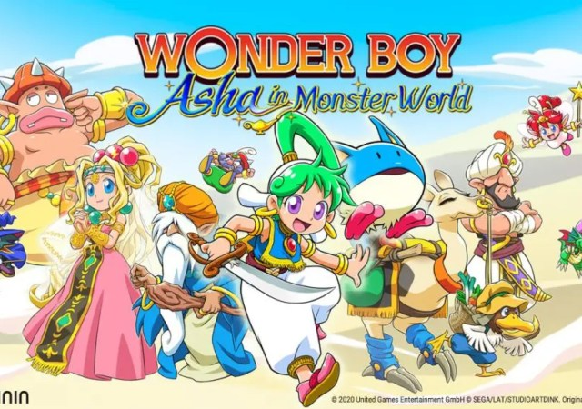 Wonder Boy Asha in Monster World