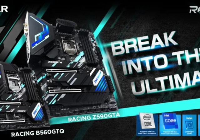 BIOSTAR RACING series Z590GTA and B560GTQ motherboards