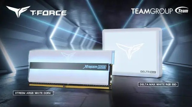 Teamgroup ,Xtreem ARGB Memory,Delta Max RGB SSD