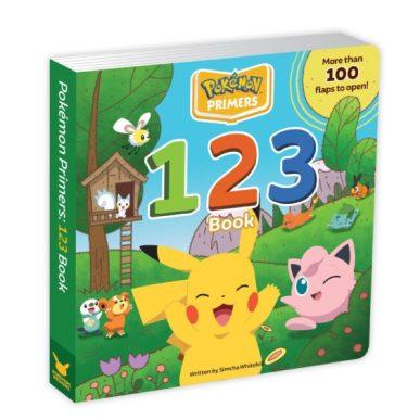Pokémon Primers 123 Book Cover