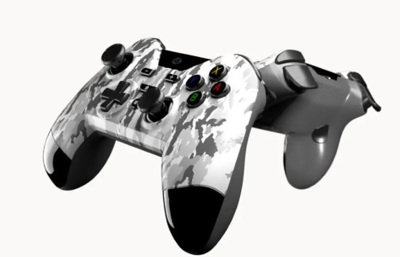 Gioteck arctic camo wireless controller WX4 low res