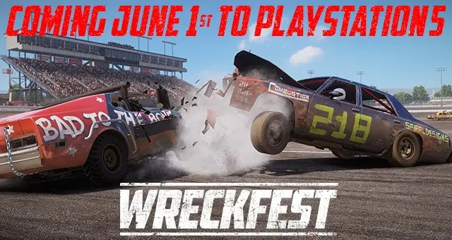 New Wreckfest PlayStation 5 Trailer