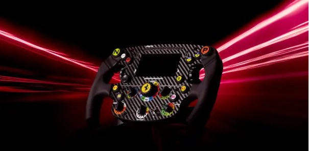 Thrustmaster unveils a sim racing replica of the Ferrari SF1000 wheel