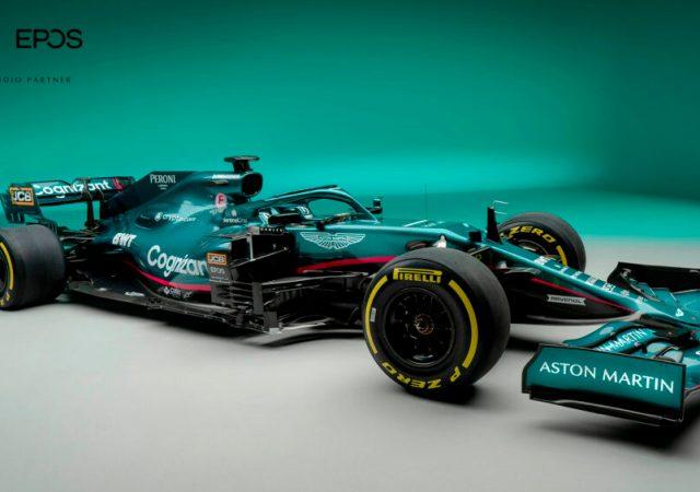 Aston Martin Cognizant Formula One Team partners with EPOS