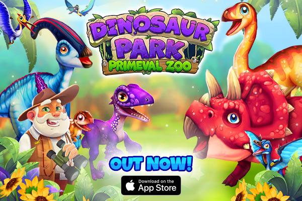 Dinosaur Park Primeval Zoo , iOS
