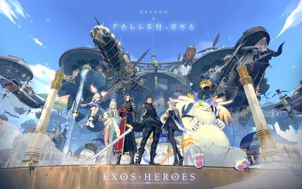 Exos Heroes updates Season 4 'FALLEN SKY'