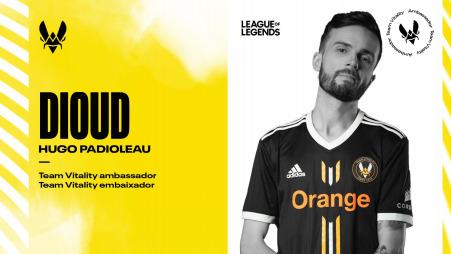 "Team Vitality signs Hugo ""Dioud"" Padioleau"