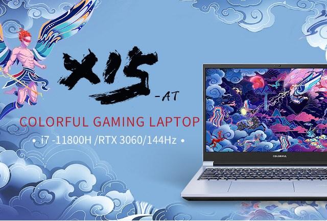 Colorful X15-AT Gaming Laptop