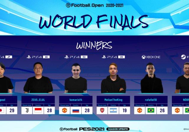 eFootball.OpenWorld Finals Winners
