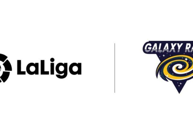 La Liga x Galaxy Racer Logo