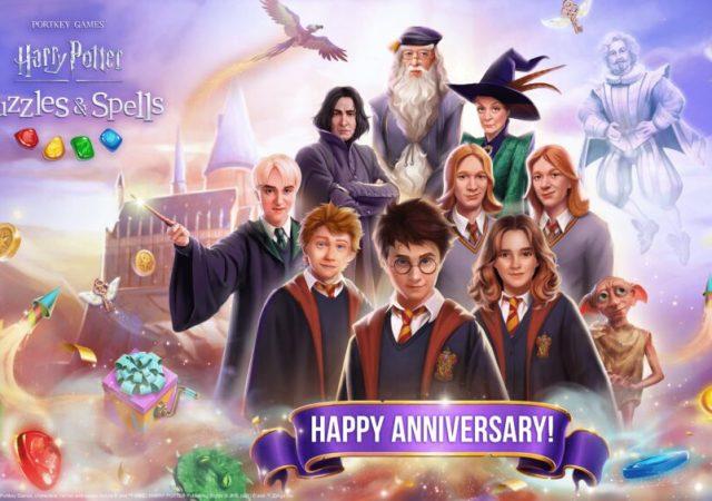 Harry Potter Puzzles & Spells