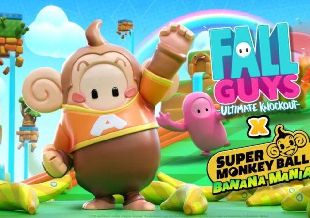 Super Monkey Ball Heads to Fall Guys