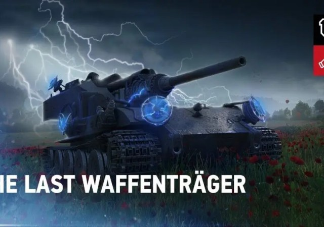 The Waffenträger Event Returns to World of Tanks