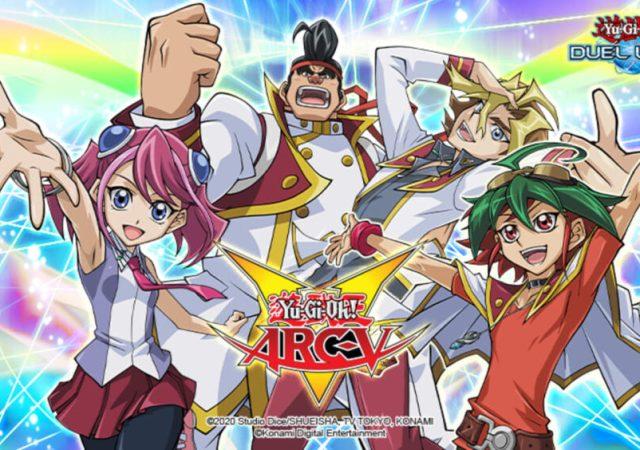 Yu-Gi-Oh! ARC-V Out Now