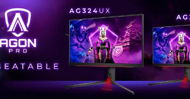 discover the new AGON PRO esports monitors