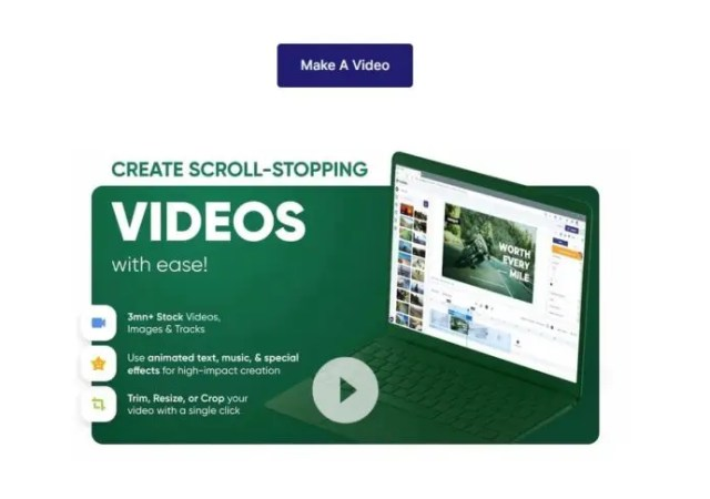Powerful storytelling made easier with the online video editor