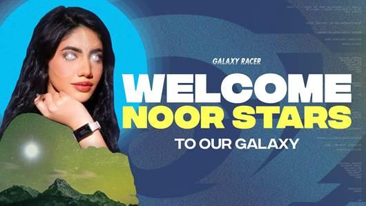 Galaxy Racer signs YouTube sensation Noor Stars