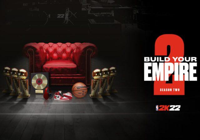 NBA 2K22 Season 2 Key Art