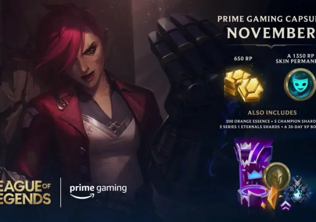 Riot Games Team Up with Prime Gaming to Bring Exclusive In-Game Content