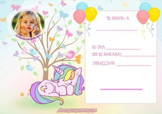 invitaciones con foto
