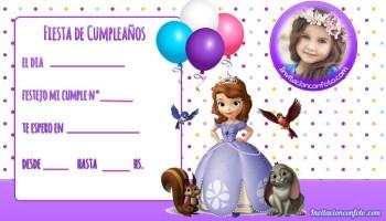 Invitaciones De Cumpleaños Ladybug Con Foto Invitaciones