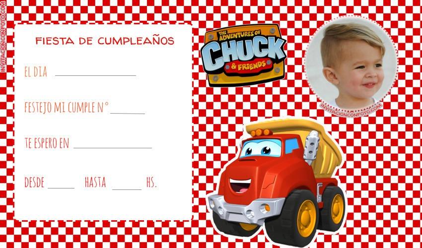 Tarjetas de Chuck & Friends cumpleanos