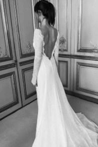 Vestido novia espalda Delphine Manibe