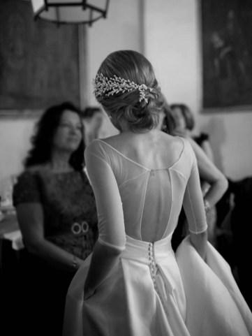 Vestido novia espalda Sole Alonso