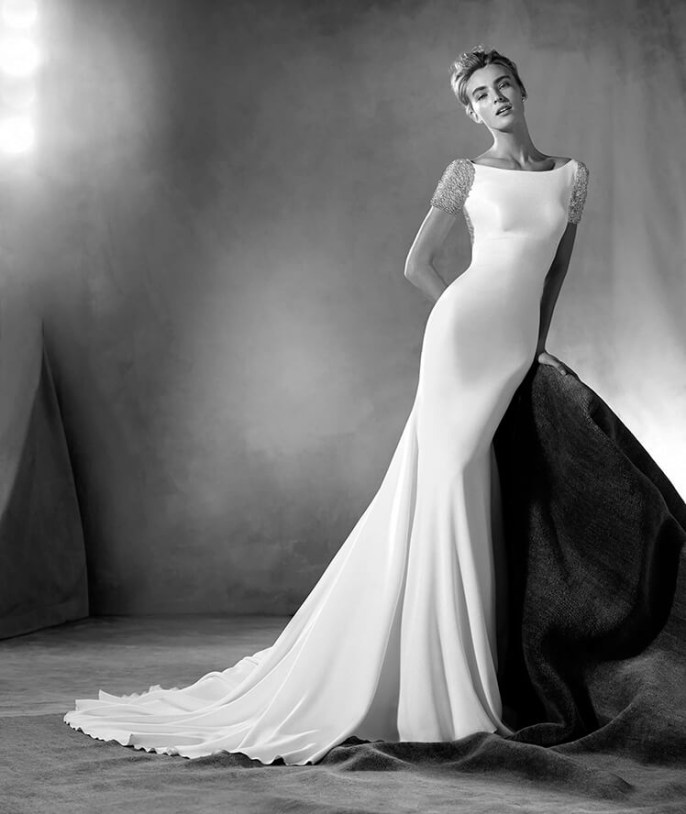 Vestido de novia modelo Emery de Pronovias Atelier 2017