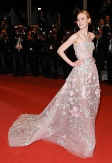 Elle Fanning en Cannes 2016