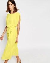 Vestido Amarillo Asos