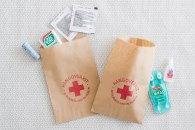 Kit de emergencia individual para el baño