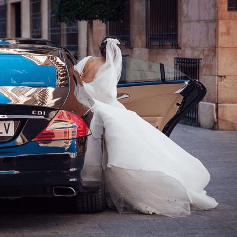 Fotos imprescindibles boda coche