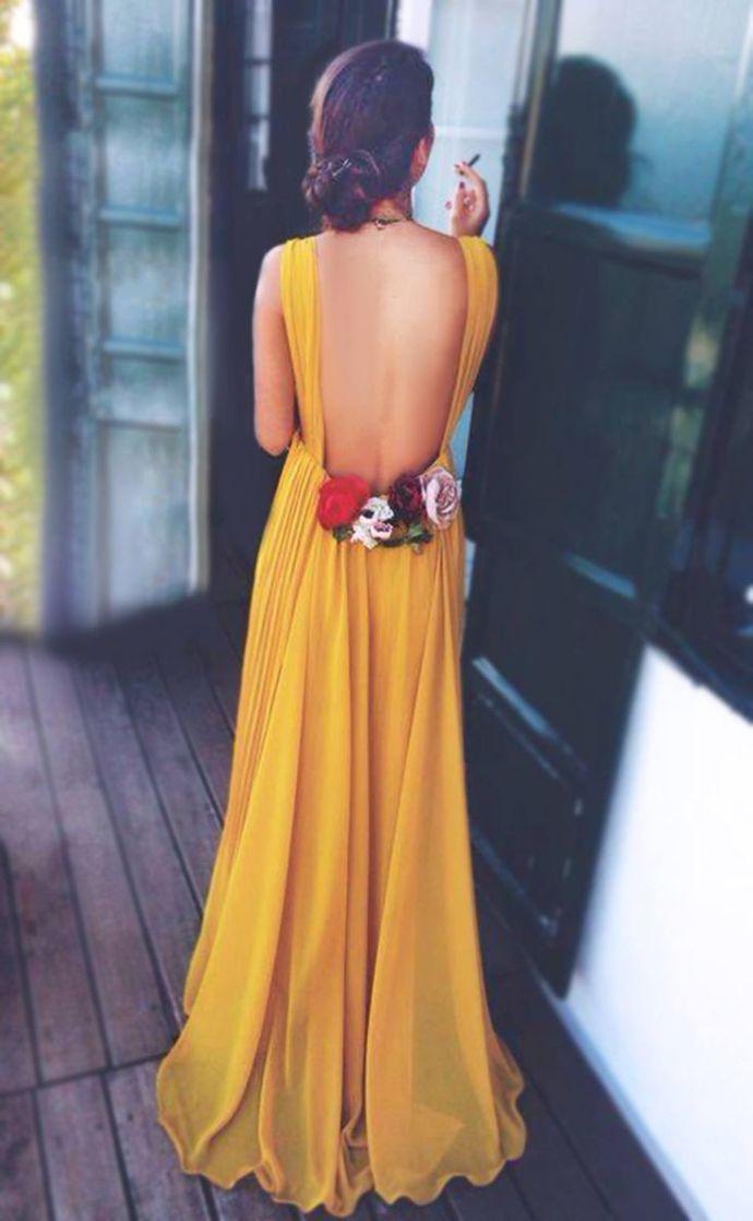 Truco vestido espalda sujetador