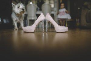 Zapatos novia Uniq Shoes rasa glitter