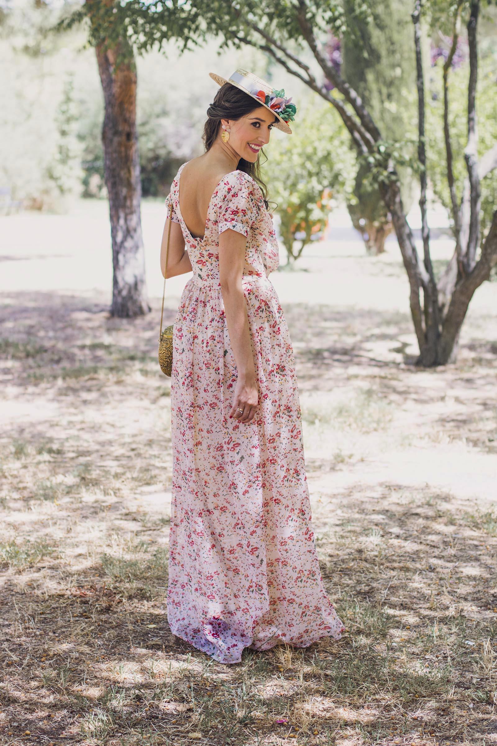 Bonito Vestido Maxi Para La Boda Inspiración - Colección de Vestidos ...