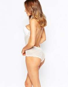 body escote espalda vestido espalda novia