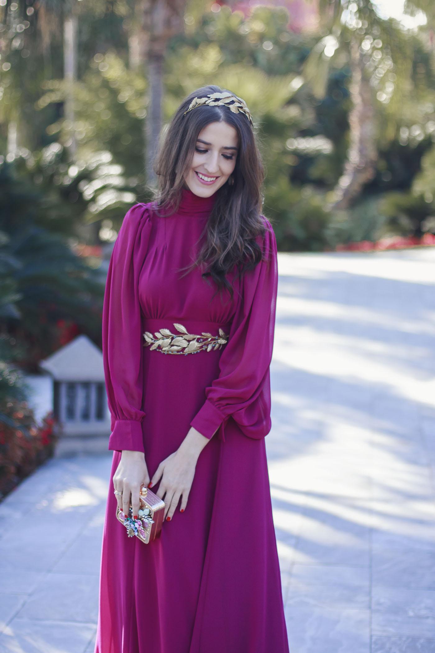 Hermosa Damas De Honor Vestidos Rojos Reino Unido Ideas Ornamento ...