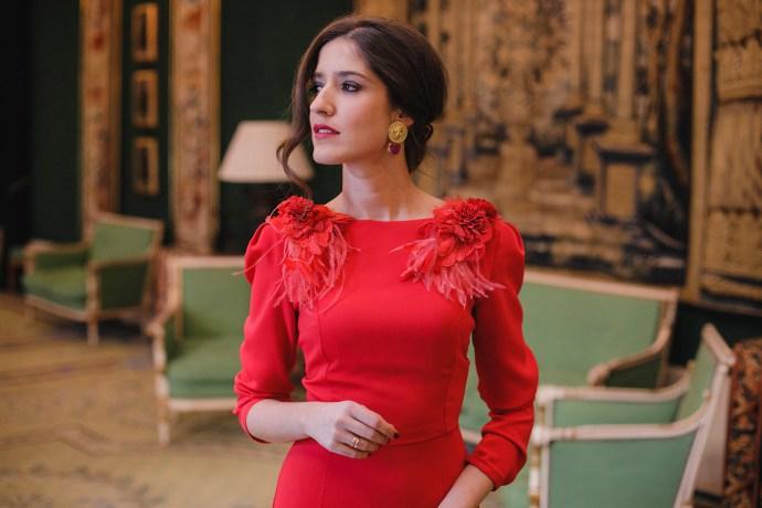 afeeac66d71 Look invitada de tarde: red dress | Invitada Perfecta