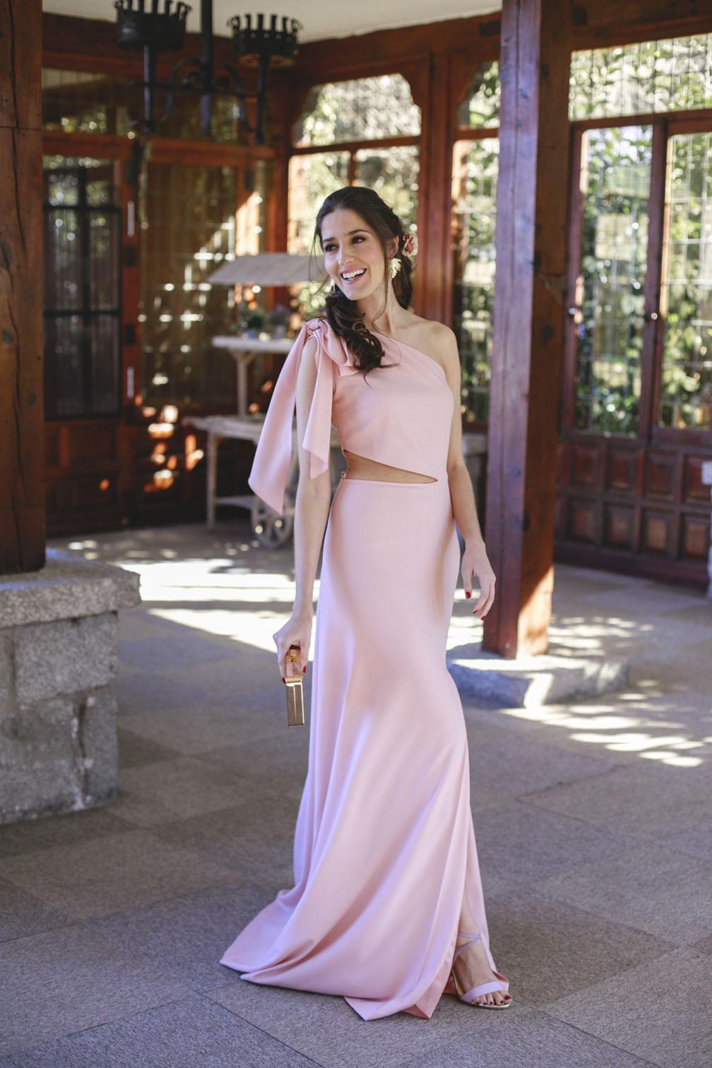 Vestidos De Noche Rosa Palo 2019 Vestidos De Punto 2019